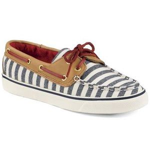 Sperry Top-Sider 2-Eye Boat Shoe Navy/Cognac
